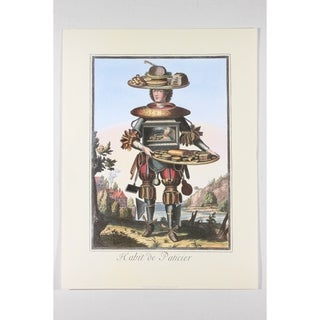 Habit de Patissier Wall Art Print by Nicolas Larmessin