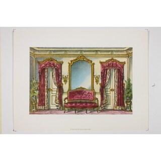 19th Century Interior Designs Le Garde-Meuble VII Poster Print