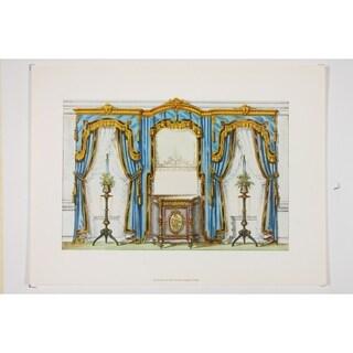19th Century Interior Designs Le Garde-Meuble V Poster Print