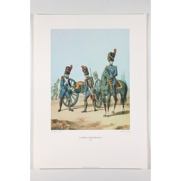 Garde Imperiale Poster Print