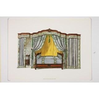 19th Century Interior Designs Le Garde-Meuble VI Fine Art Print