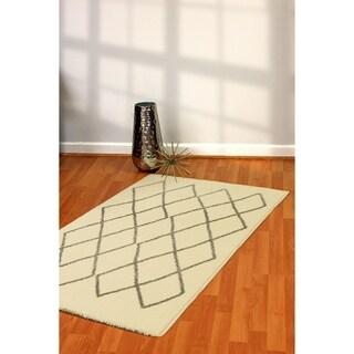 Artworks Ivory/Black Area Rug