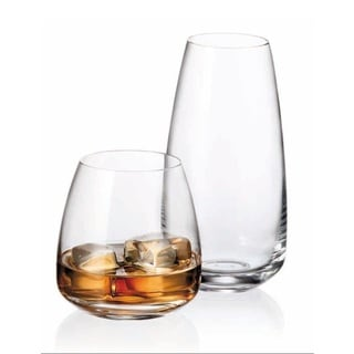 Red Vanilla Alizee Crystal Tumbler (Set of 12)