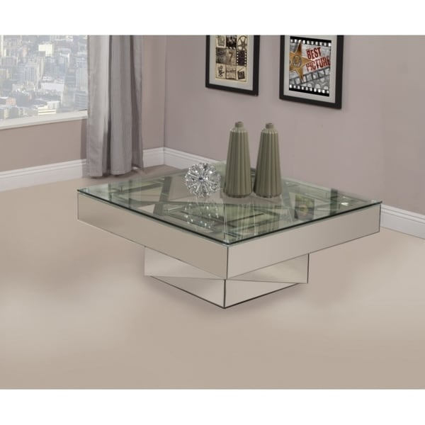 shop best quality furniture mirrored glass coffee table free