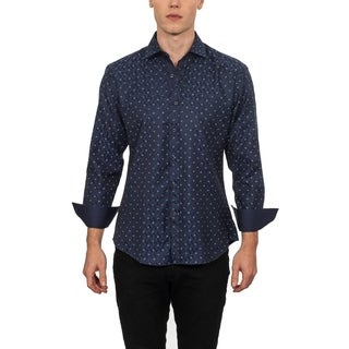 Warriors & Scholars Slim-Fit Printed Button Down Shirt