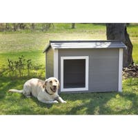 New Age Pet ecoFLEX Grey Thermocore Dog House