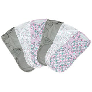 Summer Infant SwaddleMe Geo Floral Large Cotton (Pack of 6)