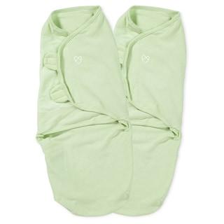 Summer Infant SwaddleMe Sage Large Cotton Knit (Pack of 2)