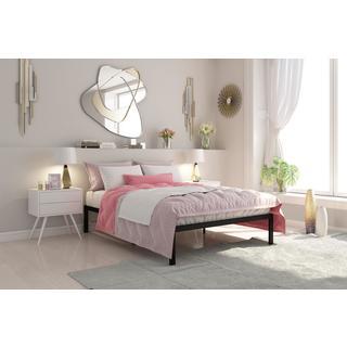 Signature Sleep Premium Modern Queen Platform Bed (Option: Gold)
