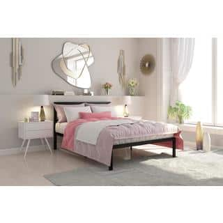 DHP Signature Sleep Queen size Platform Bed with Headboard  Option  Gold. Gold Beds For Less   Overstock com
