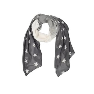 Link to Peach Couture Light Vibrant Patriotic Fading Star Print Grey Scarf - Medium Similar Items in Scarves & Wraps