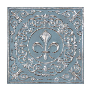 """14.5"""" Melody Metal Wall Plaque"""