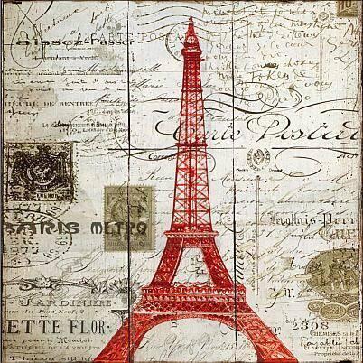 Eiffel Tower Plaque