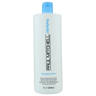 Paul Mitchell 33.8-ounce Shampoo Three