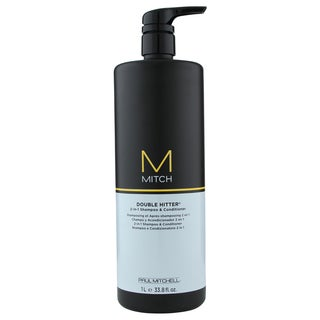 Paul Mitchell 33.8-ounce Double Hitter 2-in-1 Men's Shampoo & Conditioner