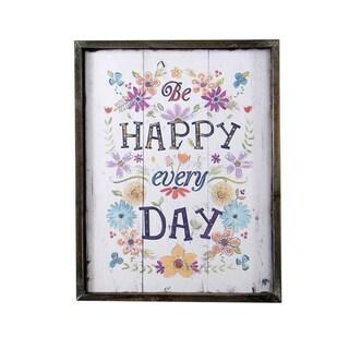 Happy Every Day Plaque