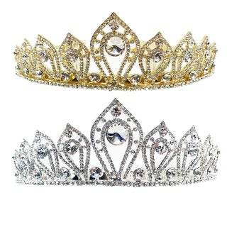 Lady Marie Rhinestone Tiara by Kate Marie (2 options available)
