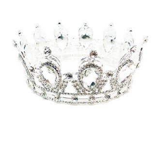 Royal Stephano Rhinestone Tiara by Kate Marie