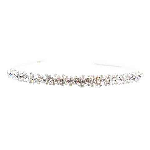The Humble Princess Rhinestone Tiara by Kate Marie