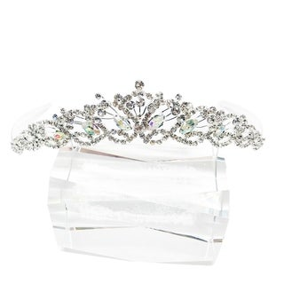 The Snow Flakes Rhinestone Tiara by Kate Marie