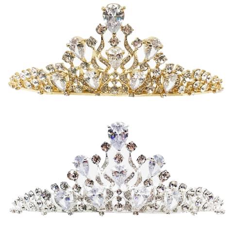 The Royal Gem Rhinestone Tiara by Kate Marie