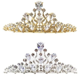 The Royal Gem Rhinestone Tiara by Kate Marie