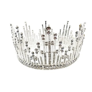 The Snow Queen Rhinestone Tiara by Kate Marie