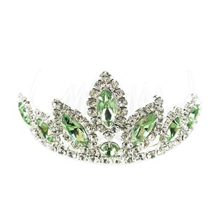 The Elementalist Rhinestone Tiara by Kate Marie (2 options available)