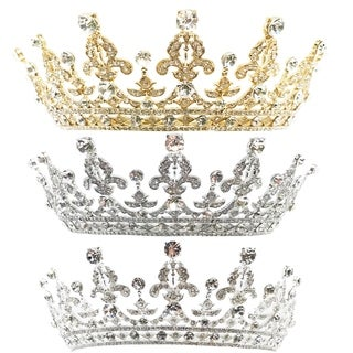 The Royal Highness Rhinestone Tiara by Kate Marie