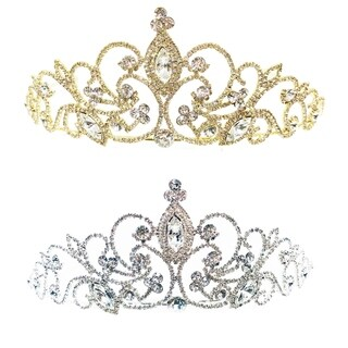 Mystical Majesty Rhinestone Tiara by Kate Marie (2 options available)