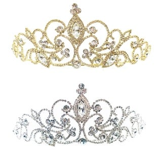 Mystical Majesty Rhinestone Tiara by Kate Marie