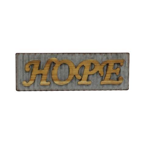 Hope Wood Haning Plaque