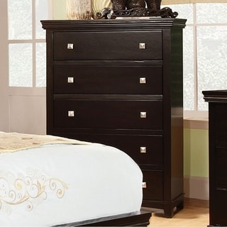 Pebble Transitional Chest, Espresso