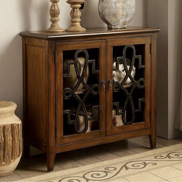 Lola Coffee Table With Storage: Shop Lola Vintage Storage Cabinet, Brown