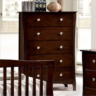 Riggins Contemporary Chest, Brown Cherry