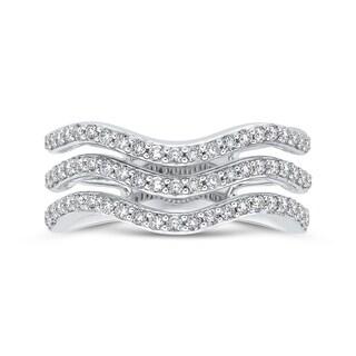 10K White Gold 5/8ct TDW Diamond Fashion Ring (G-H, I2-I3)