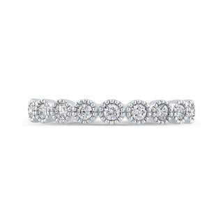 10K White Gold 1/3ct TDW Diamond Fashion Band (G-H, I1-I2)