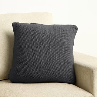 "100 Percent Cotton Moss Knit Pillow 18""x18"""