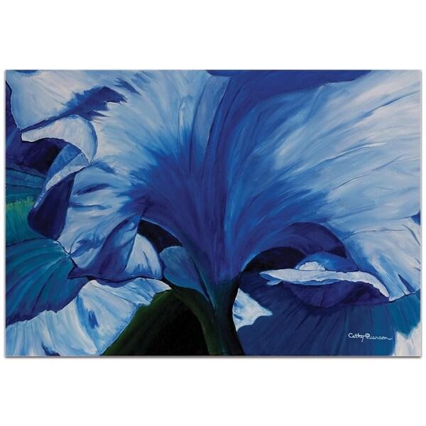 Heart of a Blue Iris