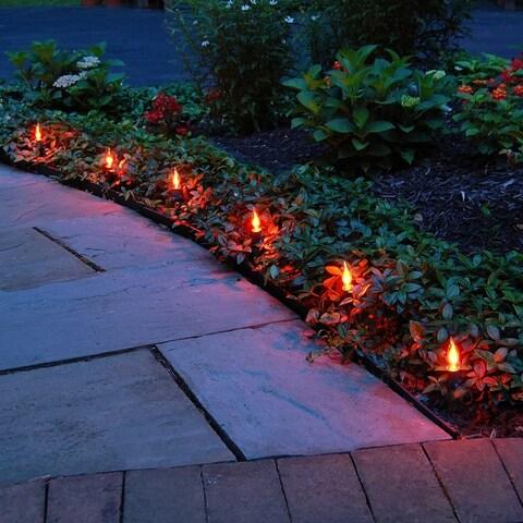 Electric Pathway Lights- Flickering Orange (10 Count)
