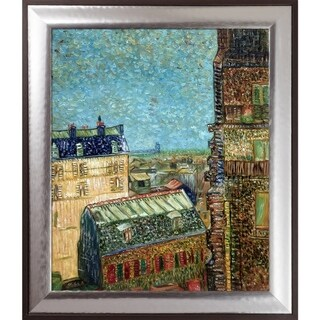 Vincent Van Gogh 'View of Paris from Vincent's Room in the Rue Lepic, 1887' Hand Painted Oil Reproduction