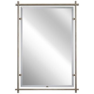 Kichler Lighting Eileen Collection Sterling Gold Finish Steel 39-inch Wall Mirror