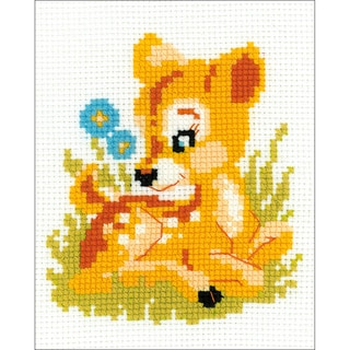 Shop Baby Deer Counted Cross Stitch Kit 6 Quot X6 Quot 10 Count