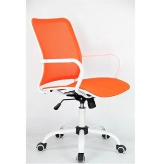 Fine Mod Imports Spare Office Chair, Orange