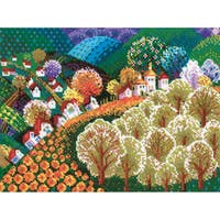 """Valley Of Fairytale Counted Cross Stitch Kit-15.75""""X12"""" 10 Count"""