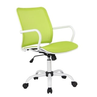 Fine Mod Imports Spare Office Chair, Green