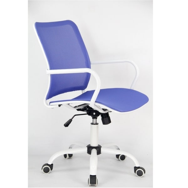 Fine Mod Imports Spare Office Chair, Blue