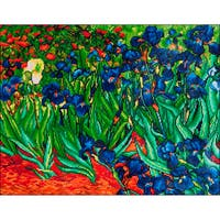 "Diamond Dotz Diamond Embroidery Facet Art Kit 25.25""X34.5""-Irises (Van Gogh)"