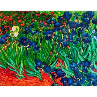 "Diamond Dotz Diamond Embroidery Facet Art Kit 25.25""X34.5""-Irises (Van Gogh)"
