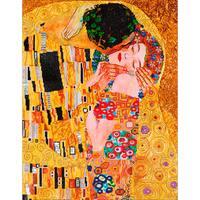 "Diamond Dotz Diamond Embroidery Facet Art Kit 31.5""X25""-The Kiss (Klimpt)"